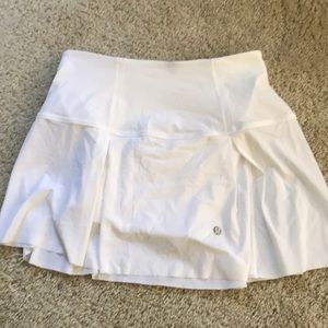 Lululemon golf skort white barely worn